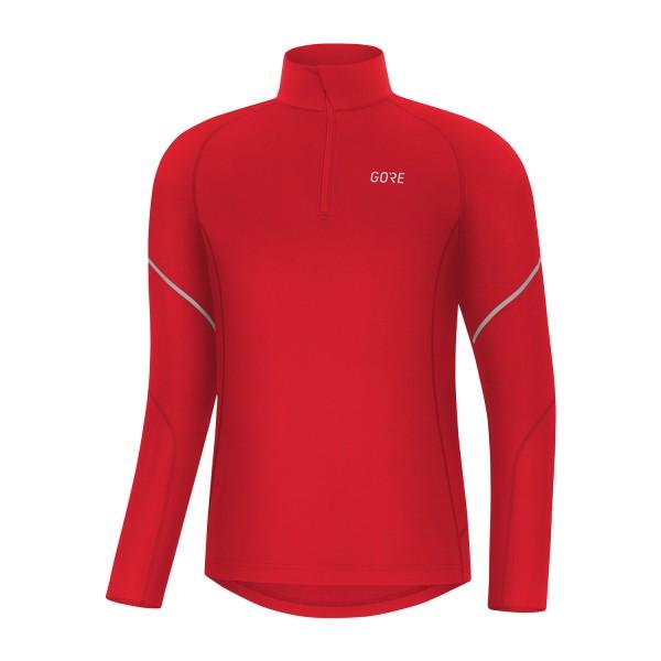 GORE® M Mid Zip Shirt langarm