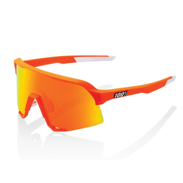 100% S3 Limited Edition Neon Orange - Hiper Mirror Lens