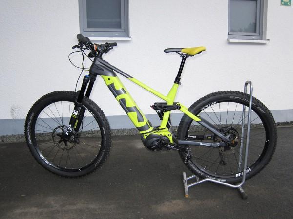 Gebrauchtbike Husqvarna Mountain Cross MC7 Farbe: gelb/schwarz Größe: M