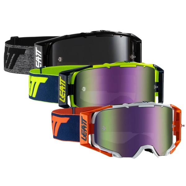 Leatt Velocity 6.5 Iriz Goggle anti fog Mirror lens