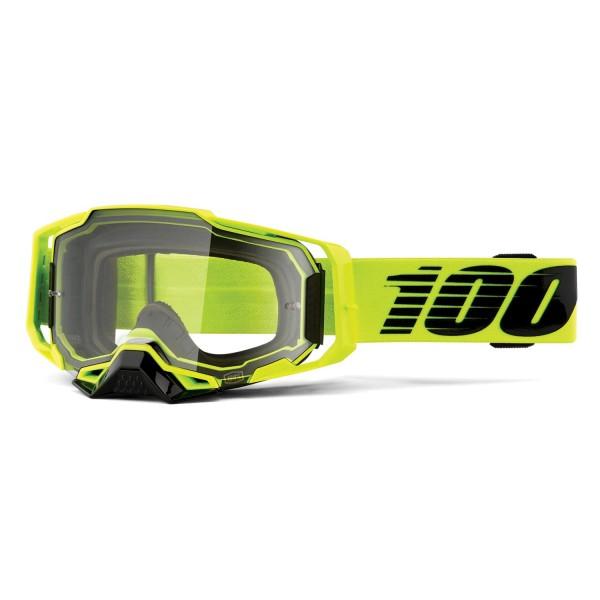 100% Armega Goggle Anti Fog Clear Lens