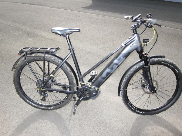Gebrauchtbike Husqvarna Cross Tourer CT5 Damen Farbe: grau/schwarz/gelb, Größe: L