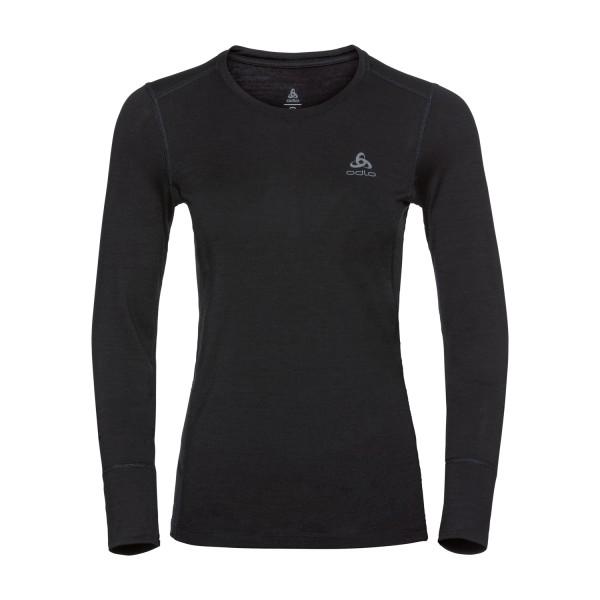 Odlo Damen NATURAL 100% MERINO WARM Funktionsunterwäsche Langarm-Shirt