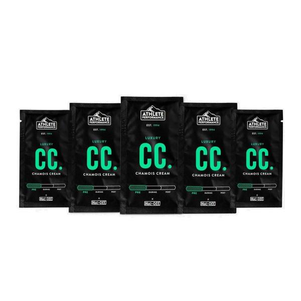Muc Off Chamois Cream 10ml Sachets (5er Pack)