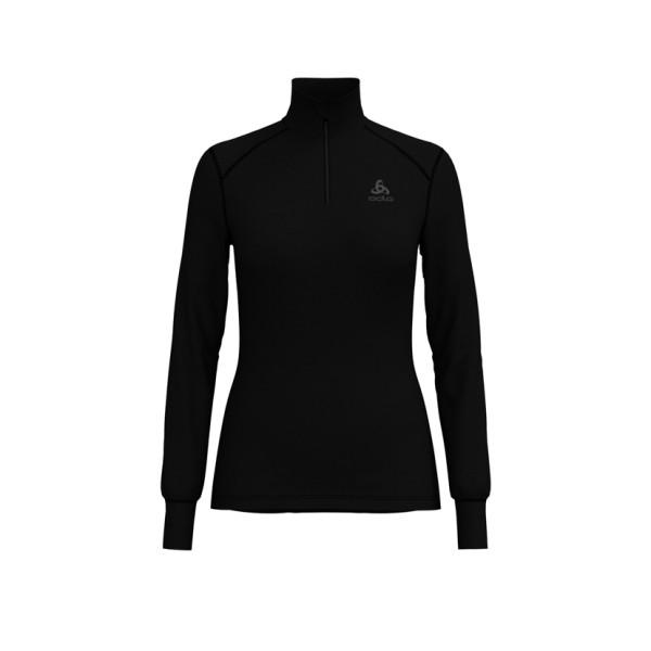 Odlo Damen ACTIVE WARM Funktionsunterwäsche Langarm-Shirt mit 1/2 Reißverschluss