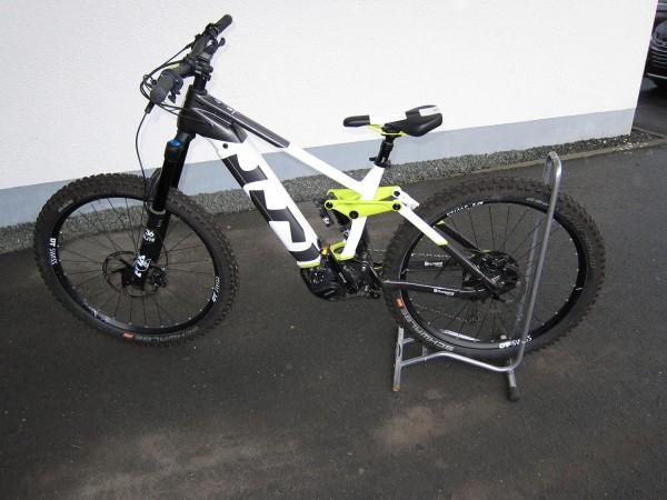 Gebrauchtbike Husqvarna Hard Cross HC8 Farbe: weiss/grün/grau Größe: S