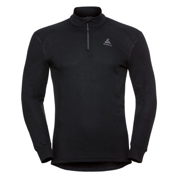 Odlo Herren ACTIVE WARM Funktionsunterwäsche Langarm-Shirt m. 1/2 Reißverschluss