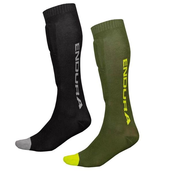 Endura Singletrack Schienbeinprotektor Socken